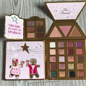 TOO FACED CHRISTMAS COOKIE HOUSE PARTY SET